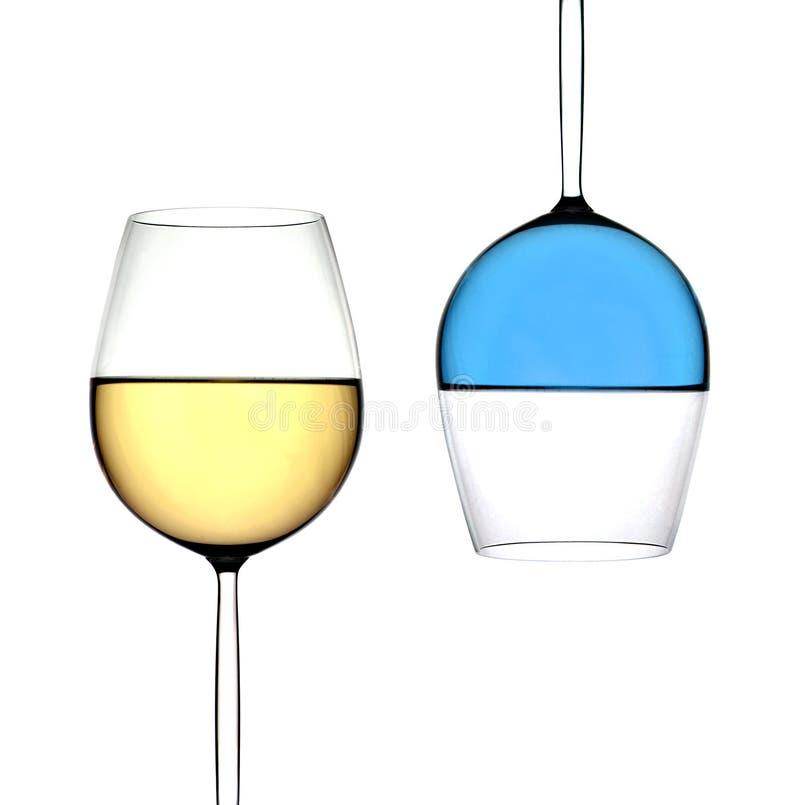 De Drinkbeker van de wijn royalty-vrije stock foto
