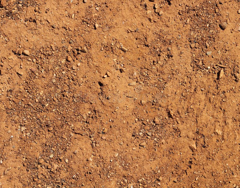 De droge natuurlijke achtergrond van de terrein bruine grond stock foto's