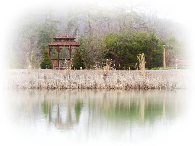 De Dromen van het meerland royalty-vrije stock foto's
