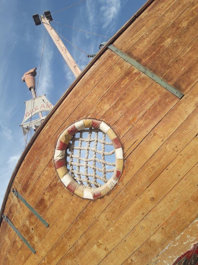 De Droom plagieert hemelboot stock foto's