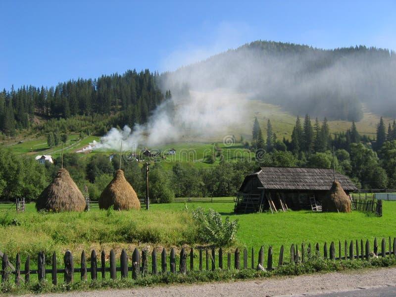De droom van Bucovina stock fotografie