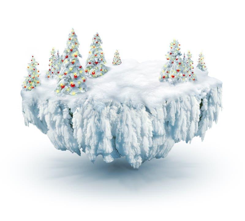 De droom van de winter royalty-vrije illustratie