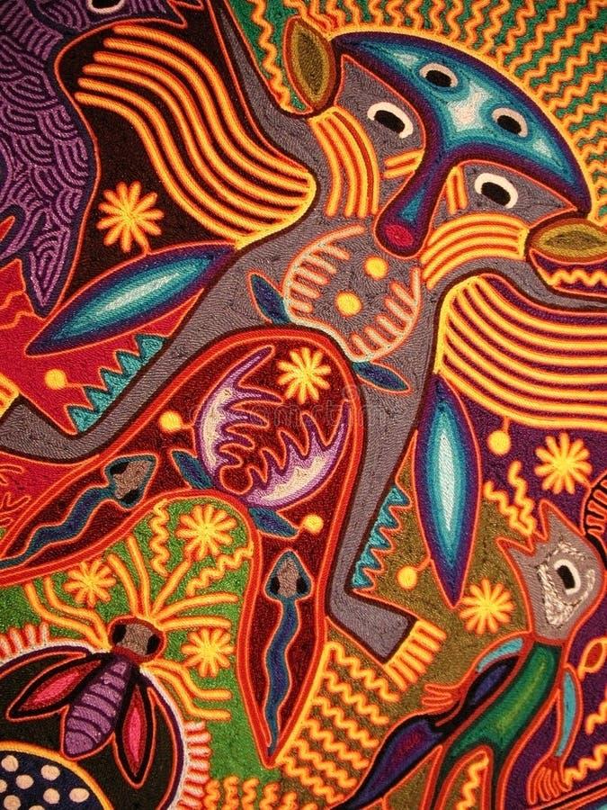 De droom van Huichol royalty-vrije stock afbeelding