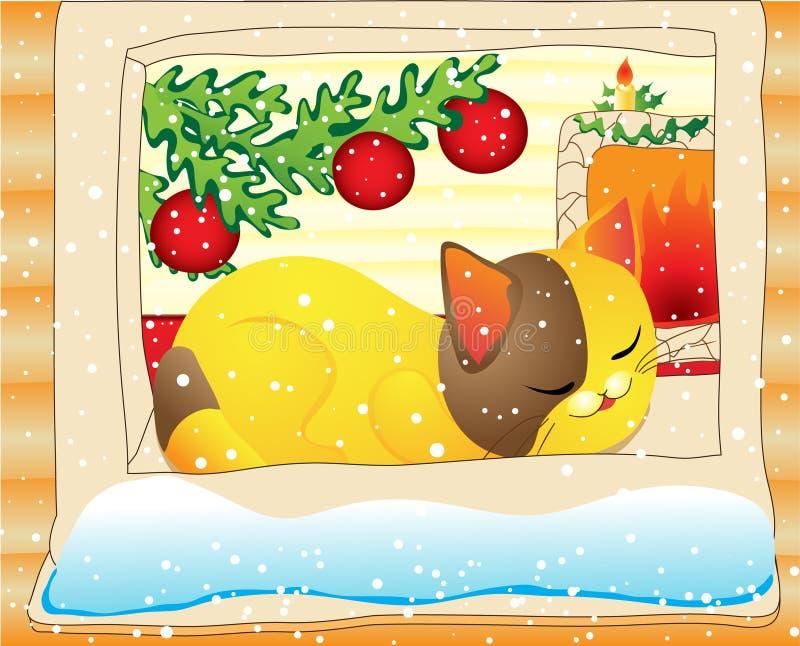 De droom van Kerstmis vector illustratie