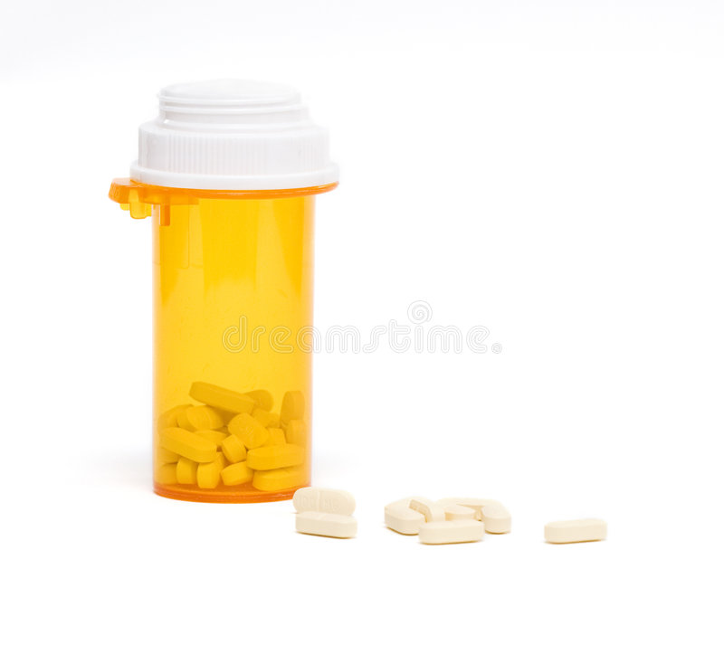 De drugs van het voorschrift stock fotografie