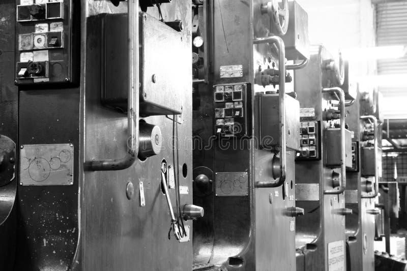 De drukmachine van de compensatie royalty-vrije stock foto