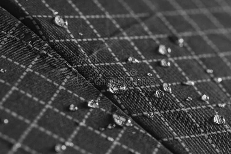 De druppeltjes van het regenwater royalty-vrije stock foto's