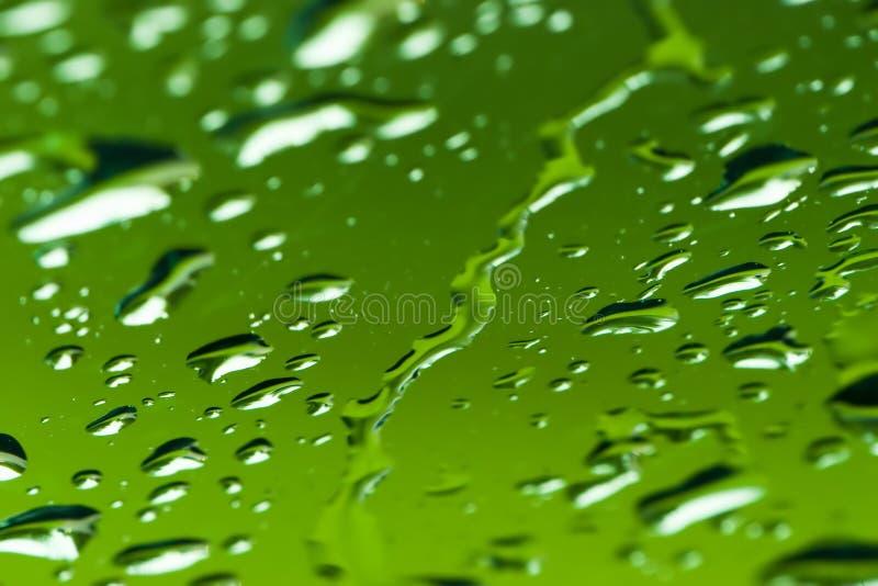 De druppeltjes van het water royalty-vrije stock foto