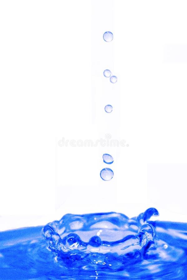 De Druppeltjes van het water, Plons royalty-vrije stock foto's