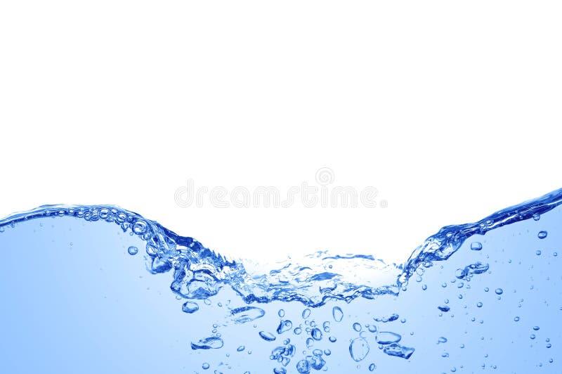 De duidelijke Blauwe Golven van het Water royalty-vrije stock foto's