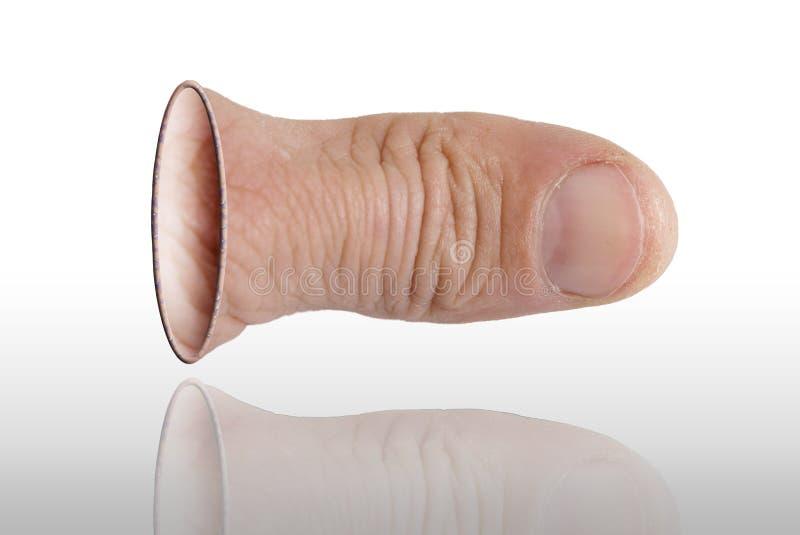De duim stock foto