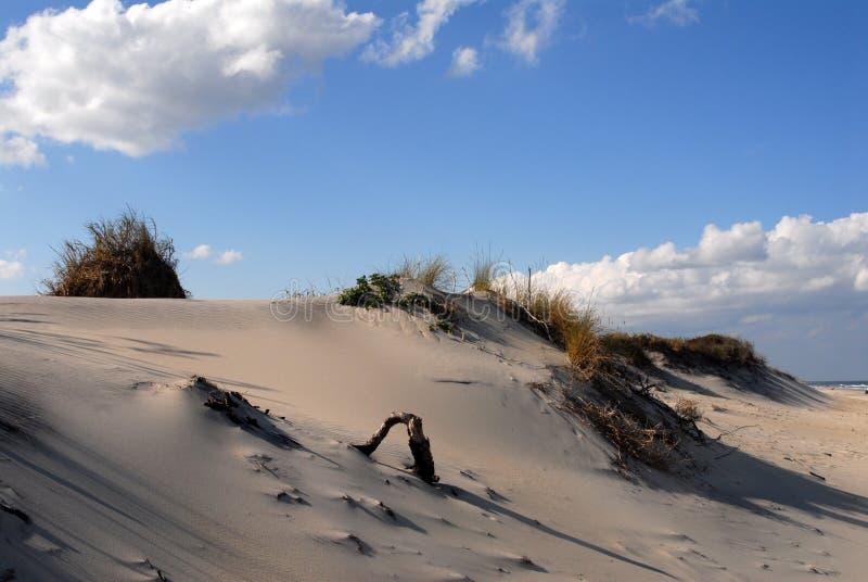 De Duinen van het zand royalty-vrije stock fotografie