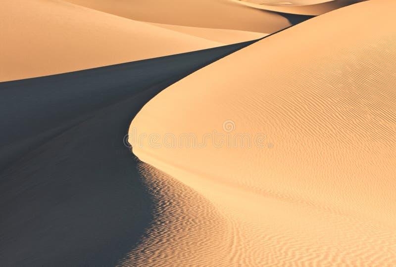 De Duinen van het zand royalty-vrije stock foto's