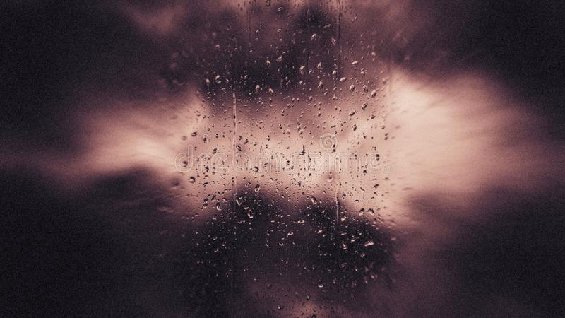 De Duisternis van de van het achtergrond hemel Atmosferische Fenomeen het ontwerpachtergrond Mooie elegante Illustratie grafische stock illustratie