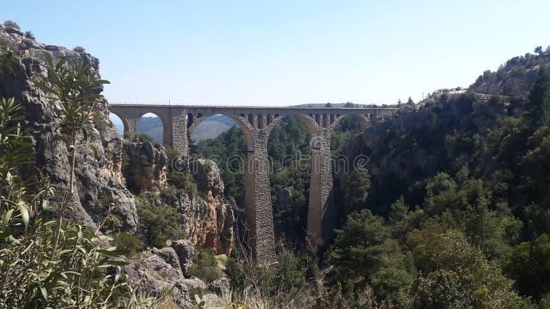 De Duitse brug van Turkije Adana stock fotografie