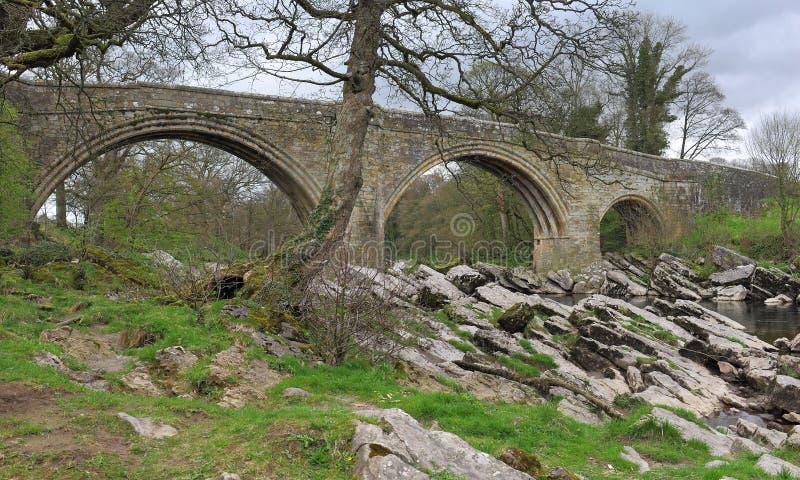 De duivels overbruggen, Kirkby Lonsdale stock fotografie