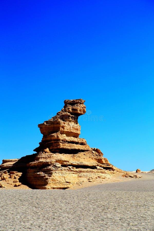 De duivelsstad van Dunhuangyadan stock afbeeldingen
