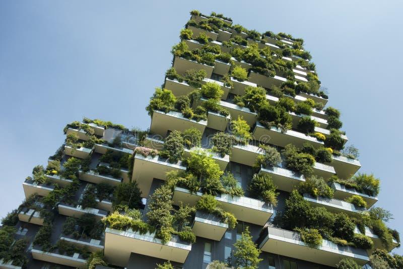 De duurzame groene bouw royalty-vrije stock afbeeldingen