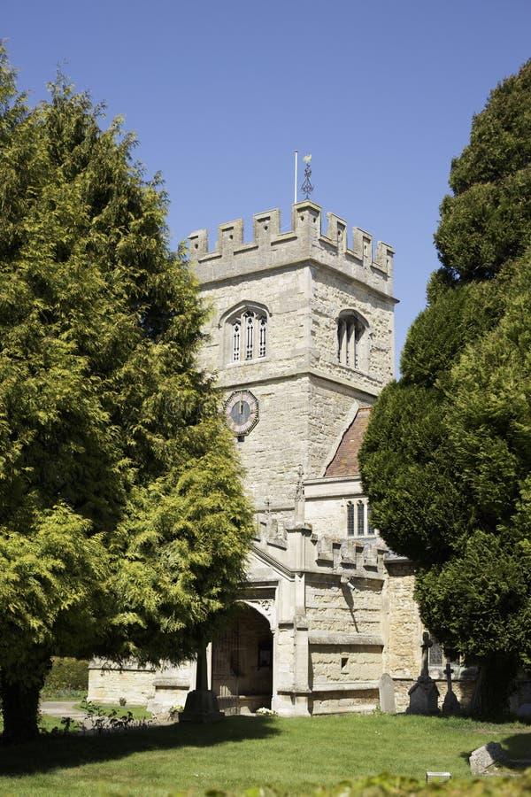 14de een eeuw oude kerk Engeland stock fotografie
