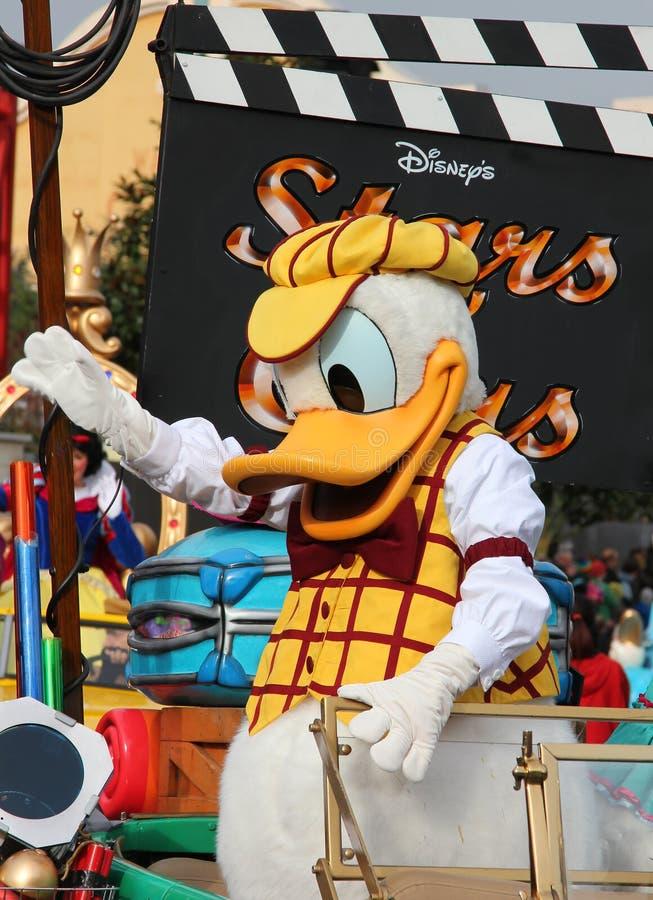 De eend van Donald stock afbeelding