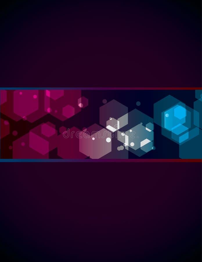De eenvoudige transparante achtergrond van de Veelhoek stock illustratie