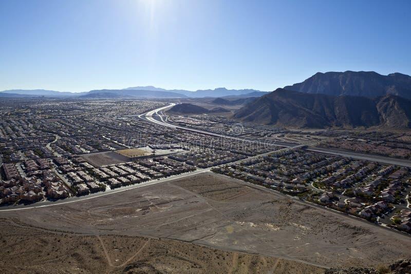 De eenzame Mening Nevada van de Berg stock afbeelding