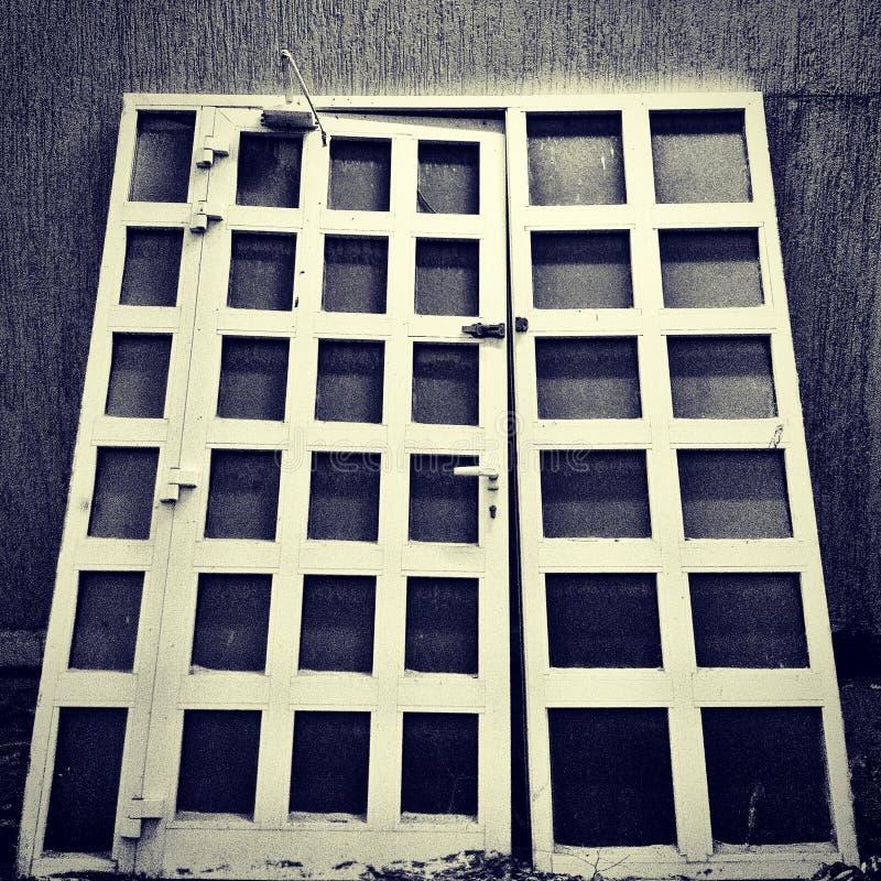 De eenzame poort royalty-vrije stock fotografie
