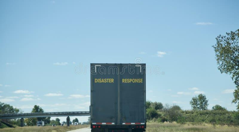 De Eerste Antwoordapparaten van de rampenreactie royalty-vrije stock afbeelding