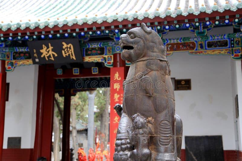 De eerste Boeddhistische tempel in China, Witte Paardtempel, Baima-tempel royalty-vrije stock fotografie