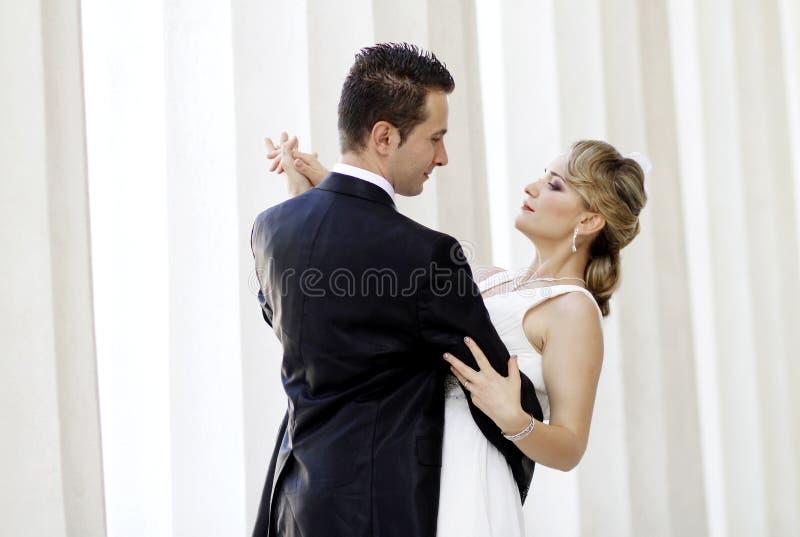 De eerste Dans van het Huwelijk royalty-vrije stock foto's