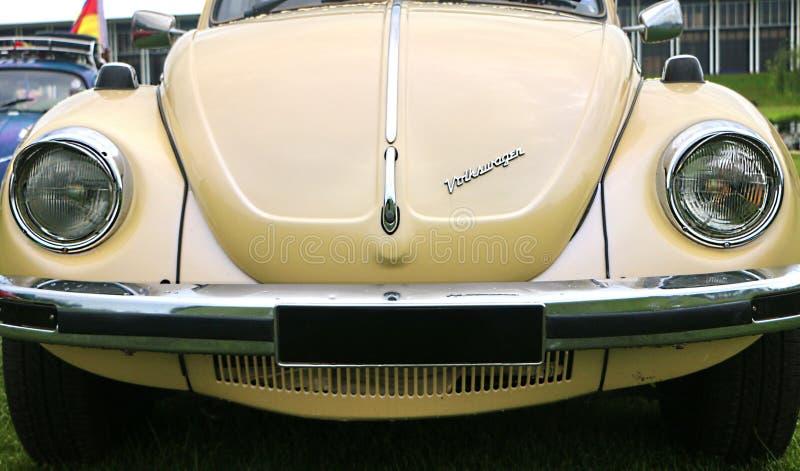 De eerste generatie van Volkswagen Beetle-koplampen, in wereld die als Bu wordt gekend stock foto's