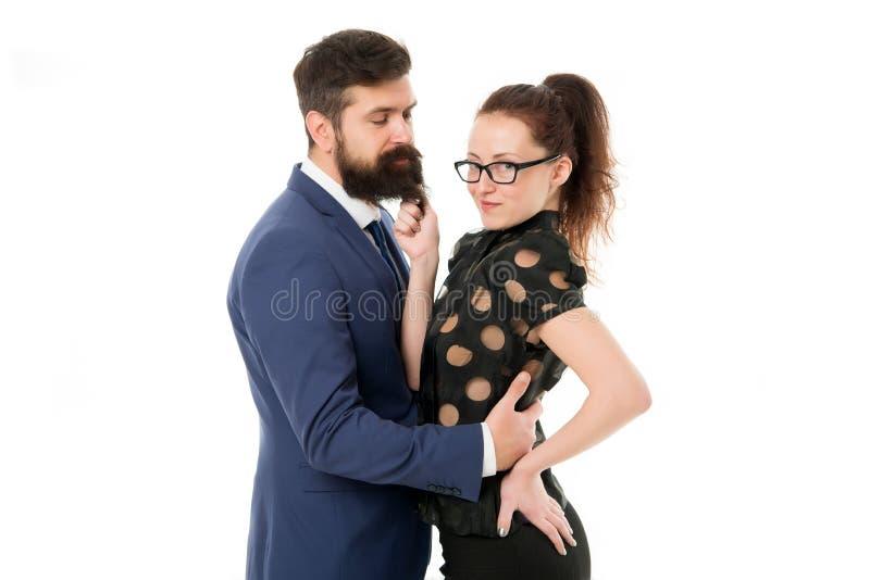 De eerste indrukken zijn alles De man en de vrouw concurreren baanpositie De arbeidsmarktconcurrentie Het Gesprek van de baan bur royalty-vrije stock afbeelding