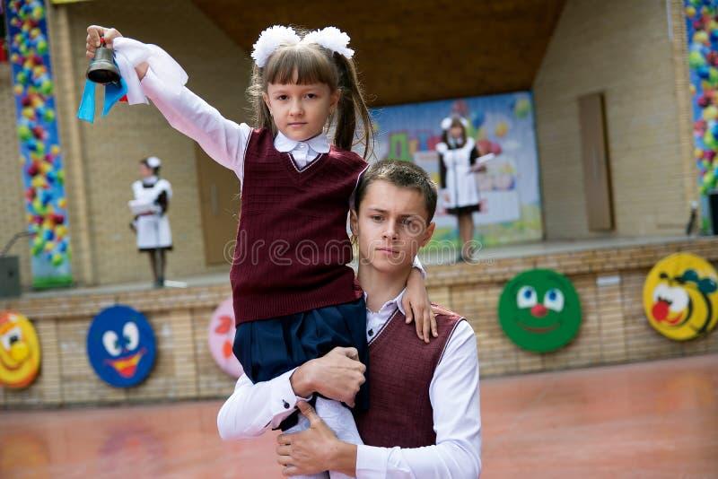De eerste vraag van het nieuwe schooljaar royalty-vrije stock fotografie
