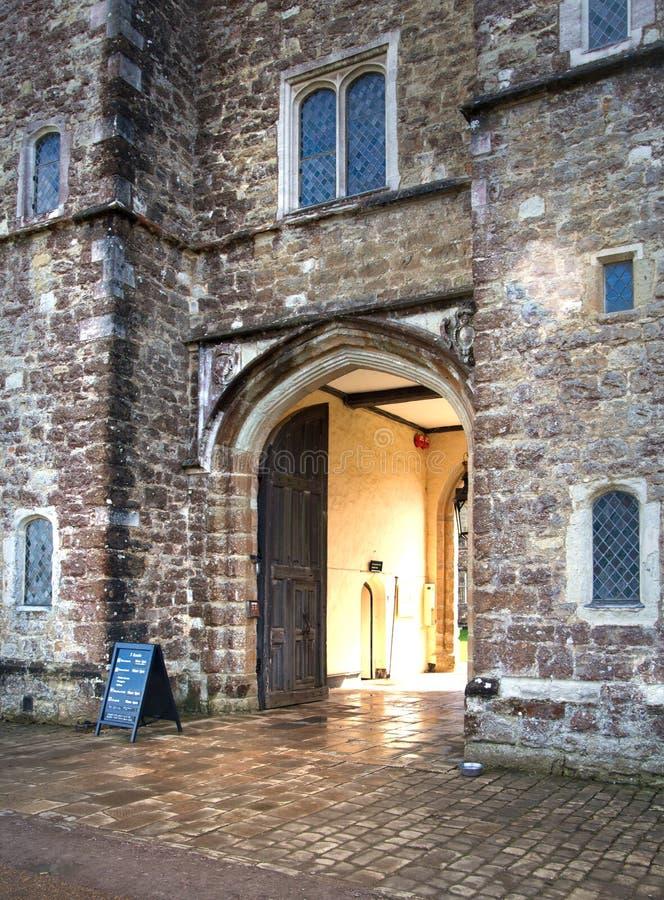 15de eeuw van het Sevenoaks de Oude Engelse herenhuis Het klassieke Engelse zijhuis van het land het UK royalty-vrije stock fotografie