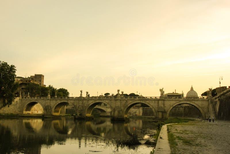 De Eeuwige Stad van Rome stock foto's