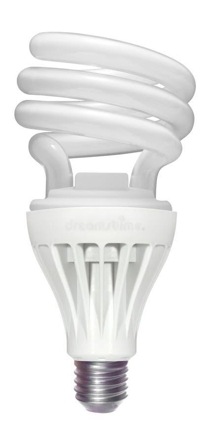 De efficiënte Compacte Bol van het Neonlicht stock illustratie