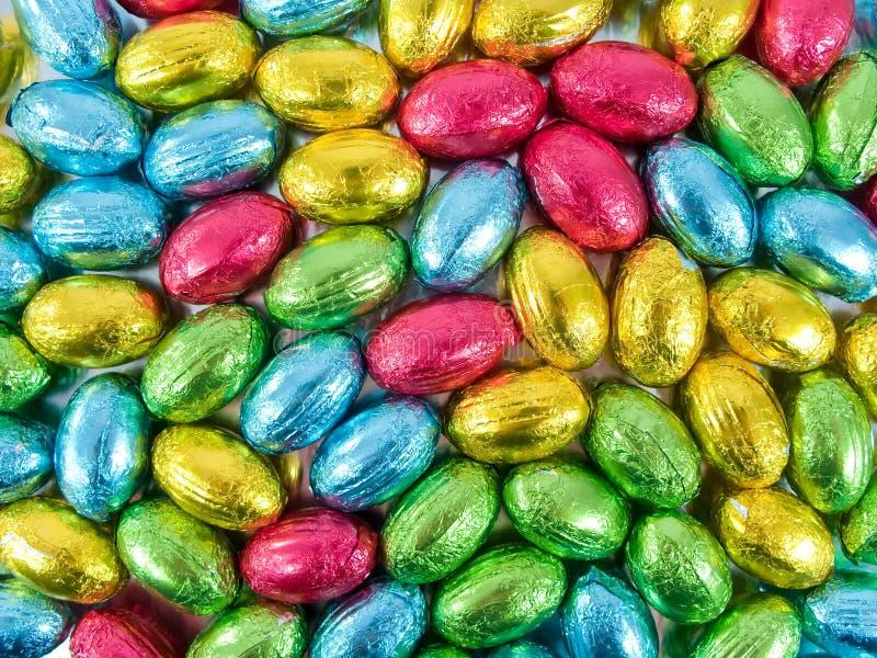 De eieren van de chocolade royalty-vrije stock foto