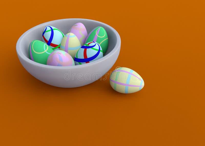 De eieren van de ester stock illustratie