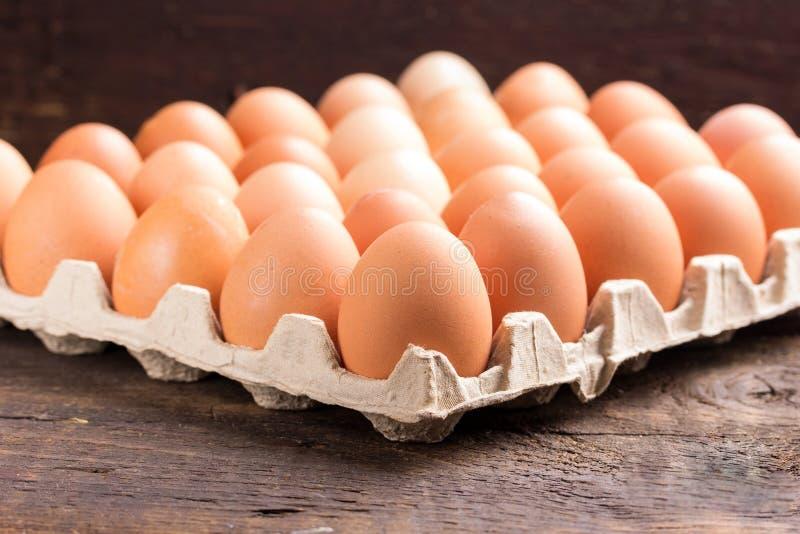 De eieren van de kip royalty-vrije stock afbeeldingen