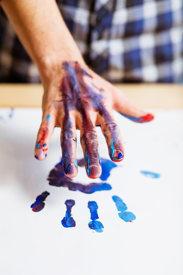 De eigentijdse vrije tijd van de de hobbypret van de kunsttendens creatieve stock afbeelding