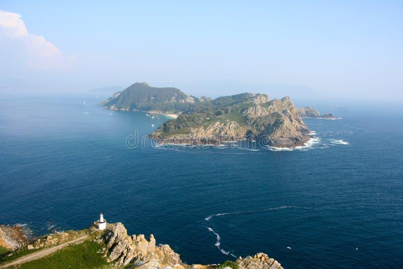 De eilanden royalty-vrije stock afbeelding