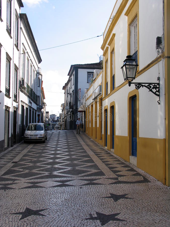 De Eilanden van de Azoren, Portugal stock afbeeldingen