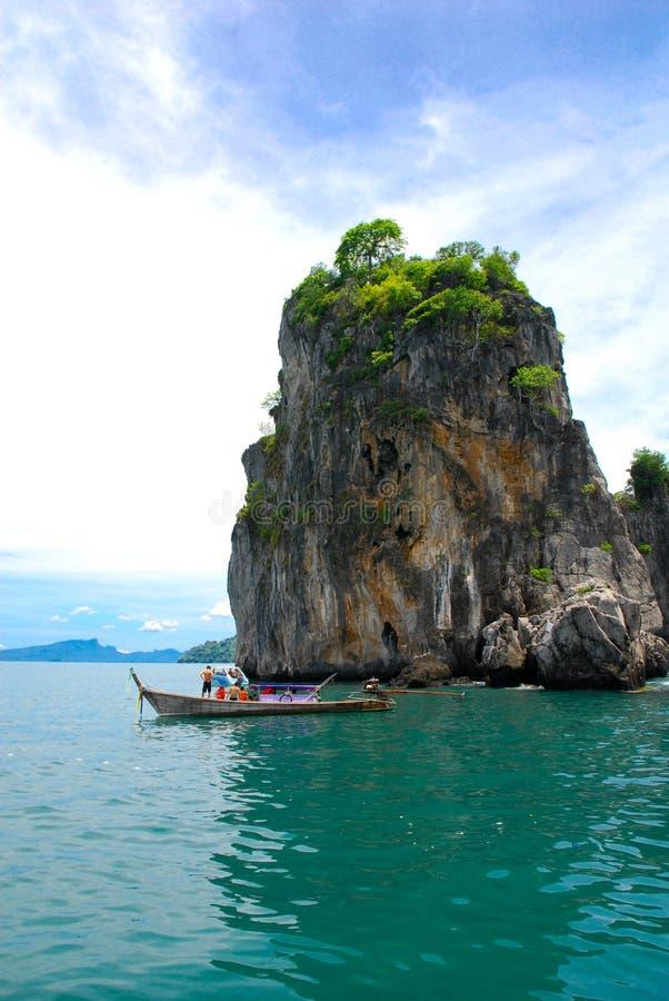 De eilanden van Krabi stock foto's