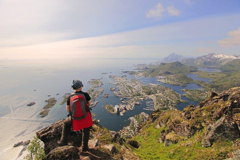 De eilanden van Lofoten - Noorwegen royalty-vrije stock fotografie