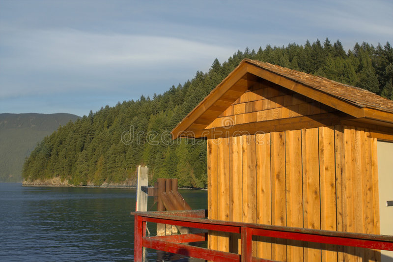 De eilanden van Vancouver royalty-vrije stock fotografie