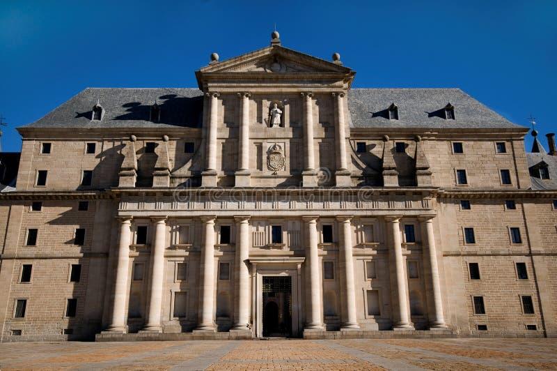 de el escorial洛伦佐・马德里修道院圣・西班牙 库存图片