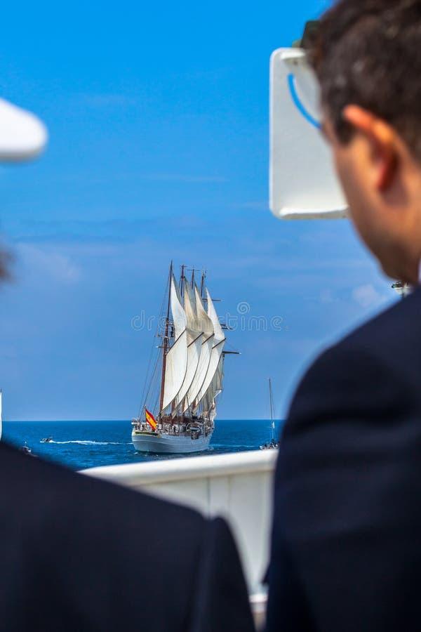 de elcano juan sebastian ship arkivfoton