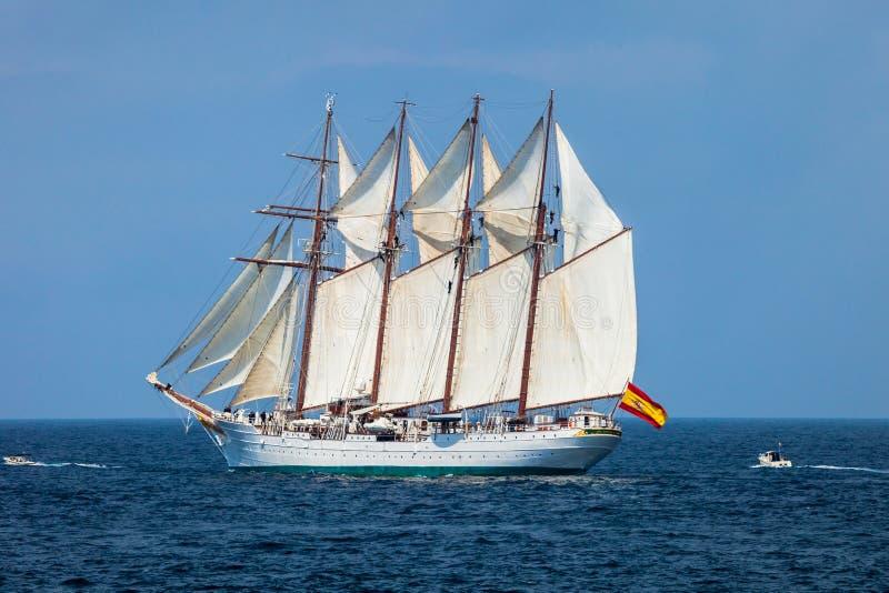 de elcano juan sebastian ship royaltyfri foto