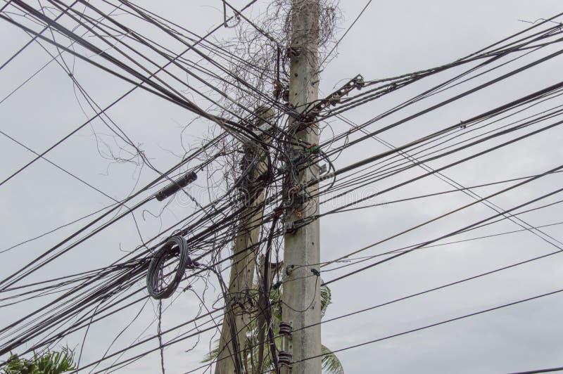 De elektriciens vrezen royalty-vrije stock afbeelding