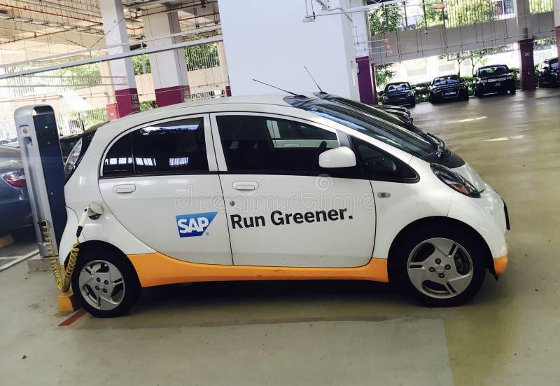 De Elektrische auto van SAP royalty-vrije stock foto